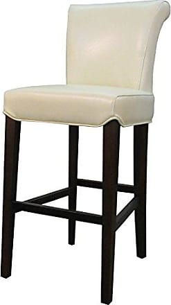 New Pacific Direct 148524-2050 Bentley Bicast Leather Counter Bar & Counter Stools, Beige