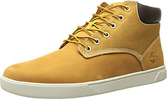 Timberland Mens Groveton Plain Toe Chukka, Wheat Nubuck, 10 Medium US
