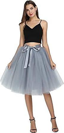 65cm 6 Schichten Tüll Röcke Frauen Tanzen Röcke Hochzeit Petticoat Unterrock Hot