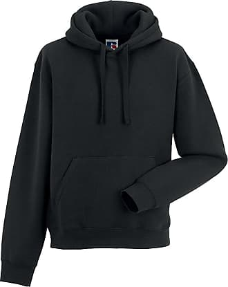 Russell Athletic Russell Authentic Hooded Sweat Colour=Black Size=XL