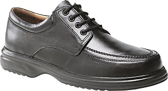 Roamers Mudguard 4 Eyelet Tie Leather Upper Wide Fitting Shoes UK 11 Black