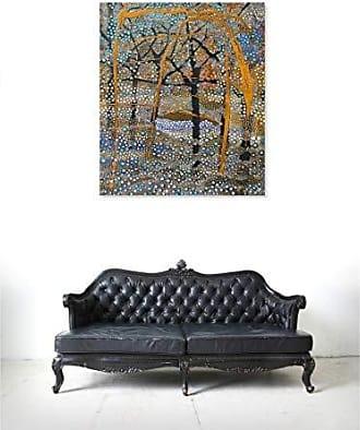 The Oliver Gal Artist Co. The Oliver Gal Artist Co. Oliver Gal Enriqueta Ahrensburg-Otono Orange Landscape and Nature Wall Art Print Premium Canvas 17 x 20