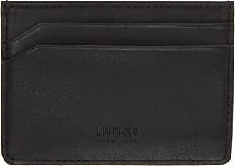 Hugo boss business card holders 16 items stylight hugo boss black statement logo card holder colourmoves