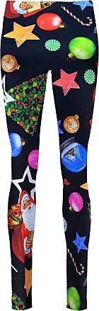 The Celebrity Fashion Womens Christmas Xmas Santa Snowman Gift Ankle Length Stretchy Leggings Jeggings Trouser Pants