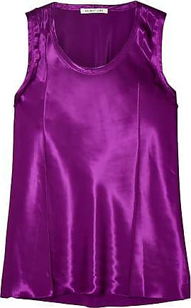 Helmut Lang Helmut Lang Woman Satin Top Purple Size 4