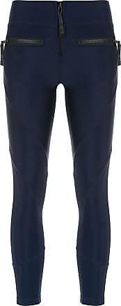Andrea Bogosian Calça legging com bolsos - Azul