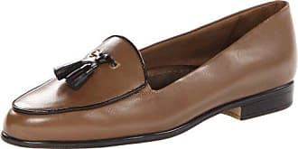 Trotters Womens Leana Loafer,Dark Taupe,9.5 M US