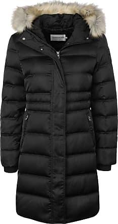 Calvin Klein Jeans Down Long Nylon Puffer W Down Coat ck Black