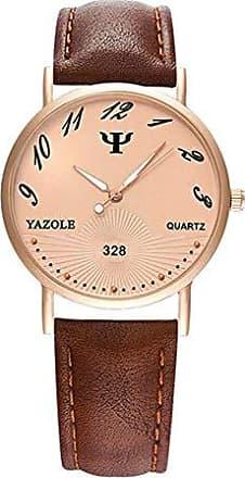 Yazole Relógio Feminino de Luxo Yazole D328 À Prova D Água (2)