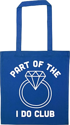 Flox Creative Blue Tote Bag Part of the I Do Club T-Shirt