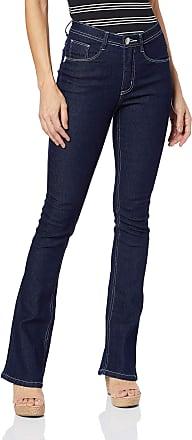 Eventual Calça Jeans Boot Cut, Eventual, Feminino, Azul, 36