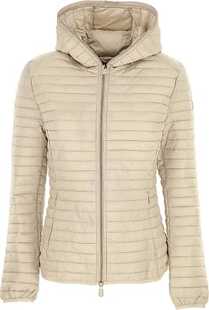 Save The Duck Jacket for Women, Beige, polyester, 2017, 10 12 2 6