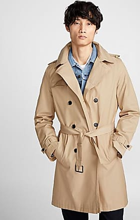 Le 31 Minimalist belted trench coat