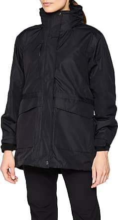 Regatta Great Outdoors Womens/Ladies Benson II 3 In 1 Waterproof Zip Up Jacket (20) (Black/Black)