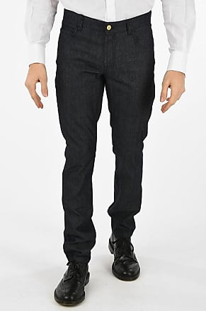 Corneliani CC COLLECTION dark wash RAKEN straight fit jeans size 50