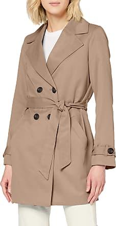 Vero Moda Womens Vmberta 3/4 Jacket Col Trenchcoat, Brown, S