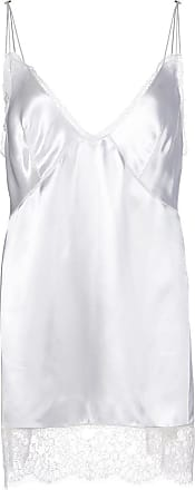 Khaite Blusa Emi com renda na barra - Branco