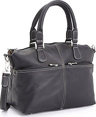 cf33366a75b Royce Leather Luxury Travel Weekender Duffel Bag Handcrafted in Colombian  Leather, Black One Size
