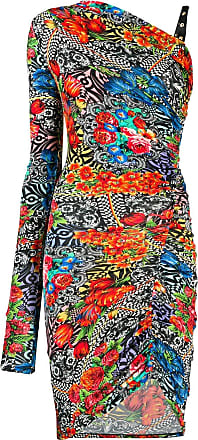 Versace Jeans Couture Vestido ombro único - Preto