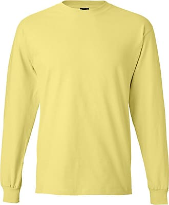 Hanes American Fine Jersey Top - Yellow - Medium