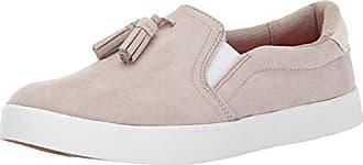 Dr. Scholls Womens Madi Tassel Fashion Sneaker, Simply Taupe Microfiber, 11 M US