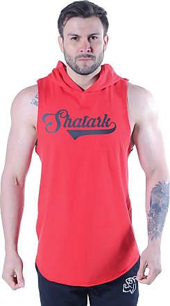 Shatark Regata Com Capuz Baseball - Vermelho (GG)