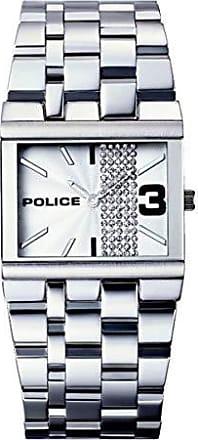Police Relógio Police Glamour Square-X - 10501BS/04M