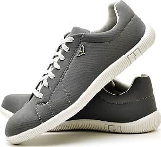 Juilli Sapatênis Sapato Casual Com Cadarço Masculino JUILLI 900DB Tamanho:41;cor:Cinza;gênero:Masculino