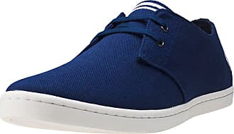 Fred Perry Byron Low Twill Mens Trainers Navy - 7 UK