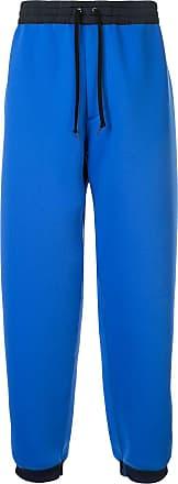 Kolor two-tone track pants - Blue