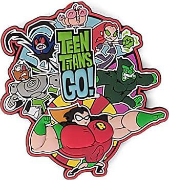 DC 45637 Teen Titans Go Group Shot Soft Touch PVC magnet, 3, Multicolor