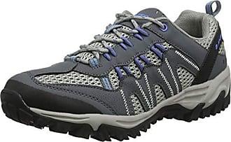 Homme Hi-Tec Jaguar Anthracite//Gris Marche Randonnée Chaussures