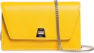 MQaccessories Envelope bag in cervo-structured calf leather