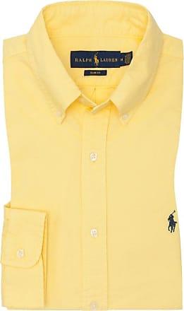 Polo Ralph Lauren Oxfordhemd, Slim Fit von Polo Ralph Lauren in Gelb für Herren