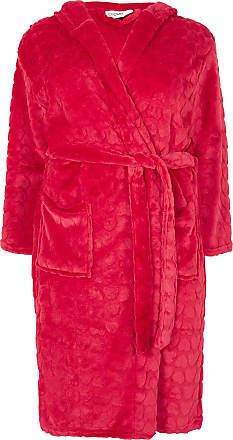 4d4031568b Yours Clothing Clothing Womens Plus Size Heart Textured Dressing Gown Size  22-24 Pink