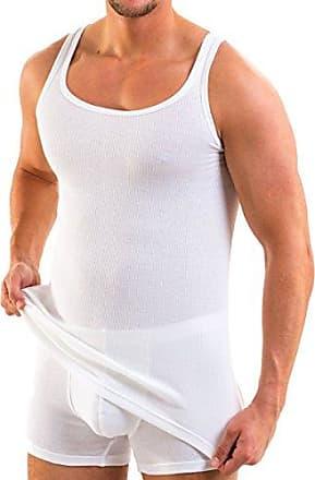 HERMKO 9144012  Damen Unterhemd mit Spitze Women Tank Top Bio Baumwolle Feinripp