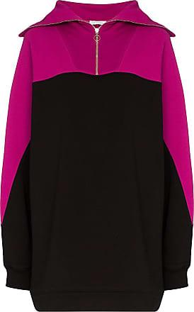 Ninety Percent Felpa con zip - Di colore rosa