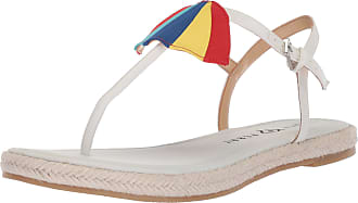 Katy Perry Womens The Shay Flat Sandal, White, 5.5 UK