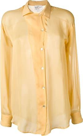 Forte_Forte Camisa com abotoamento - Amarelo