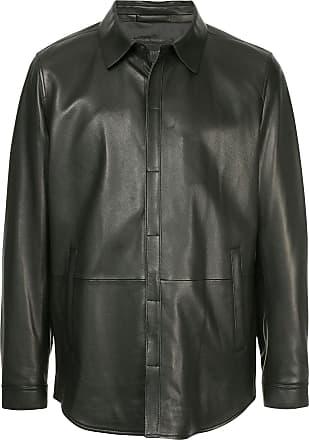 Durban concealed buttoned jacket - Black