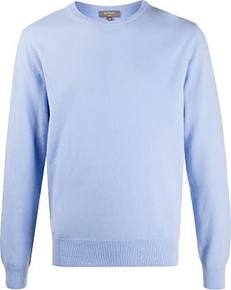N.Peal crew neck cashmere jumper - Blue