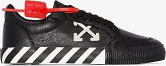 Off-white Off-white Mens Black Stripe Arrow Logo Sneakers