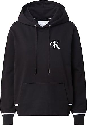 Calvin Klein Jeans Sweatshirt schwarz / weiß