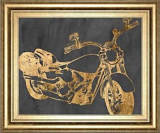 Classy Art Motorcycle Bling I Framed Wall Art - 8272