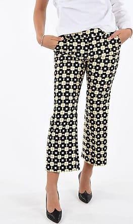 True Royal pantalone dritto SANDY Fantasia Geometrica taglia 42