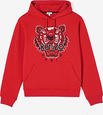 Kenzo Sweatshirt à capuche Tigre