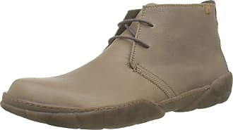 El Naturalista Mens Turtle Classic Boots, Grey (Plume Plume), 8 UK