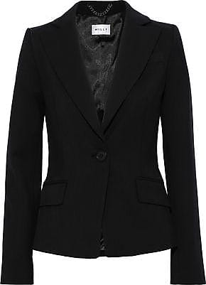 Milly Milly Woman Wool-blend Blazer Black Size 0
