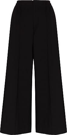 Yohji Yamamoto wide-leg track pants - Black