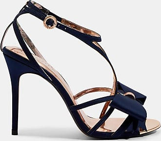 Ted Baker Stiletto Sandals in Navy ARAYIS, Womens Accessories